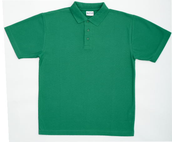 Poloshirt supplied plain